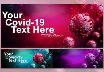 Covid-19 Coronavirus Mockup