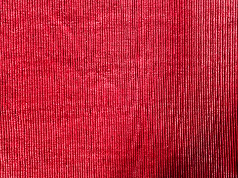 Rotes Tischset