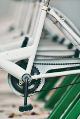 Cropped Image Of Bicycle