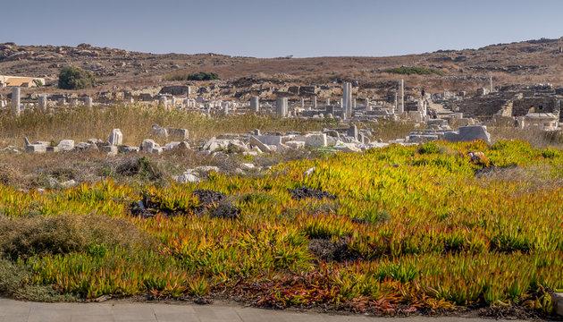 Ruins on the Delos Island