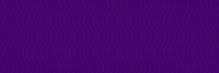 Spoed Fotobehang Abstract wave abstract purple background pattern with curvy waves or wavy lines in 3d beveled stripes, faint ripple texture pattern in detailed modern line art