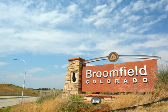 BROOMFIELD, COLORADO, USA - August 5, 2017: Broomfield, Colorado is a consolidated city and county in Colorado's Front Range.