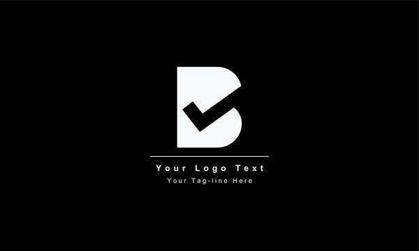 Abstract letter B logo design. Creative,Premium Minimal emblem design template. Graphic Alphabet Symbol for Corporate Business Identity. Initial BB vector element