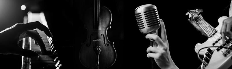 Music. Fotobehang