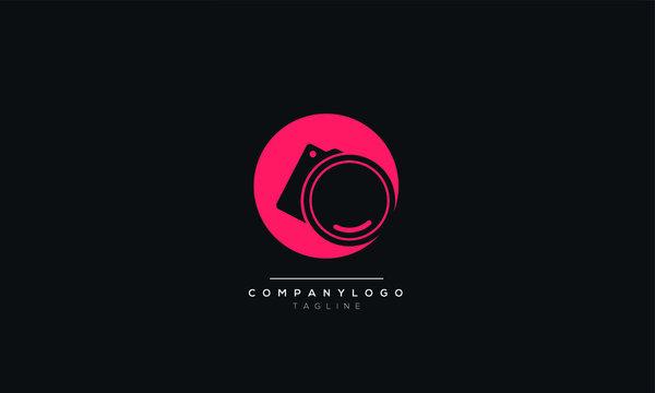Logo template photography studio, photographer, photo. Company, brand, branding, corporate, identity, logotype. Clean and modern style