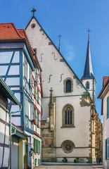 Fototapete - Protestant church in Bad Wimpfen, Germany