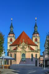 Fototapete - Evangelical City Church in Ludwigsburg, Germany