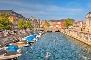 Fotomurales - Copenhagen historical landmarks, HDR Image