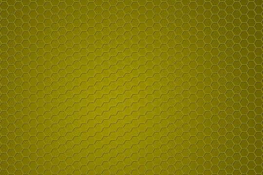 Yellow hex textured background