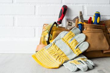 construction tools maintenance or bricolage