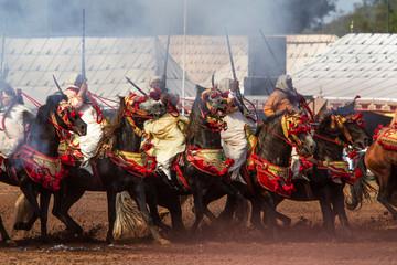 Maroc, Fantasia Papier Peint