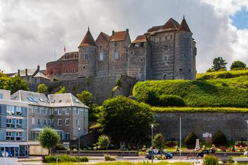 Schlossburg in Dieppe in der Normandie in Frankreich Fototapete