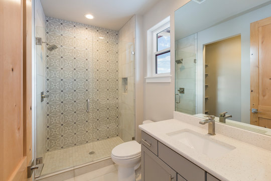 Modern Rustic Farm House Bathroom