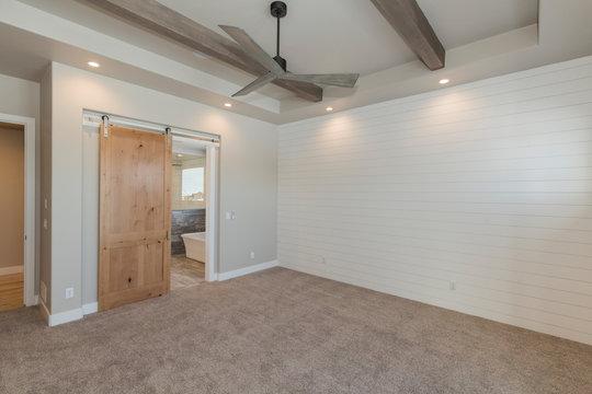 Modern Rustic Farm House Master Bedroom