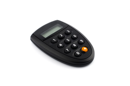 Security token device for online banking.
