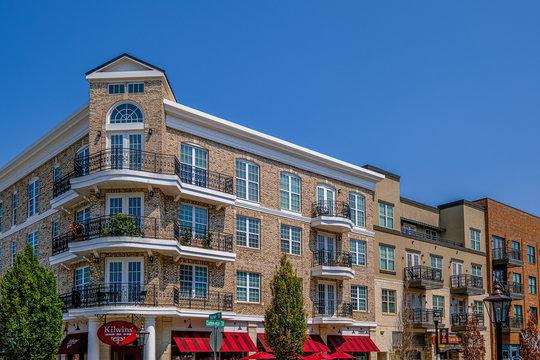Loft Apartments Over Retail Space