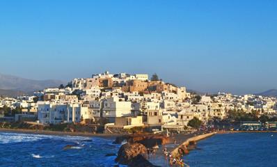scenery of Naxos island Cyclades Greece - the largest of the Cyclades islands Greece Wall mural