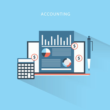 Accounting Audit Business concept