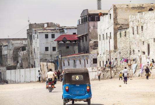 View of Mogadishu, Mogadishu is the capital city of Somalia