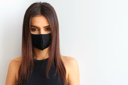Girl in a mask virus