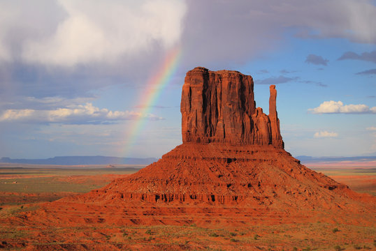Monument Valley Ranbow