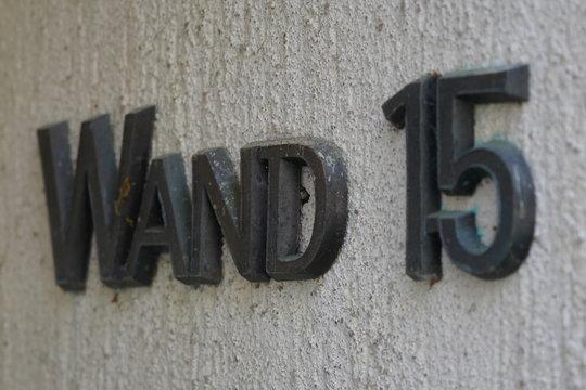 """Kolumbarium """"Wand 15"""""""