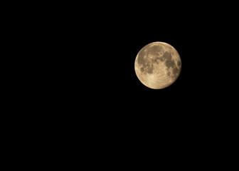 Full moon - hand held