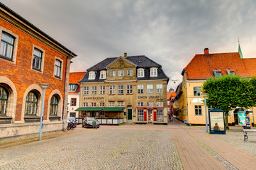 Fotomurales - Helsingor landmarks, Denmark