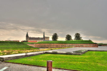 Wall Mural - Helsingor landmarks, Denmark