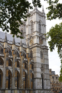 Westminster Abbey in Westminster, London, United Kingdom