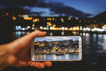 Using your smartphone as a mobile camera while traveling