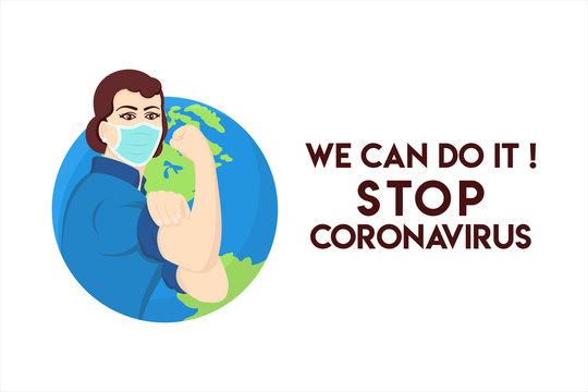 stop coronavirus motivation We can do it