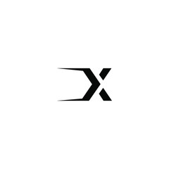 x letter vector logo abstract