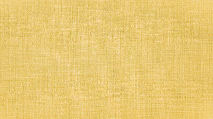 Yellow mustard natural cotton linen textile texture background Fotomurales