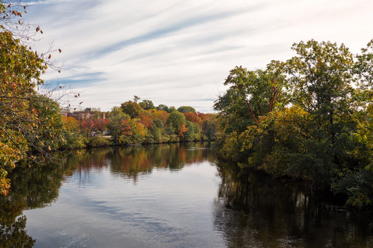 An Afternoon of Autumn in Watertown, Massachusetts
