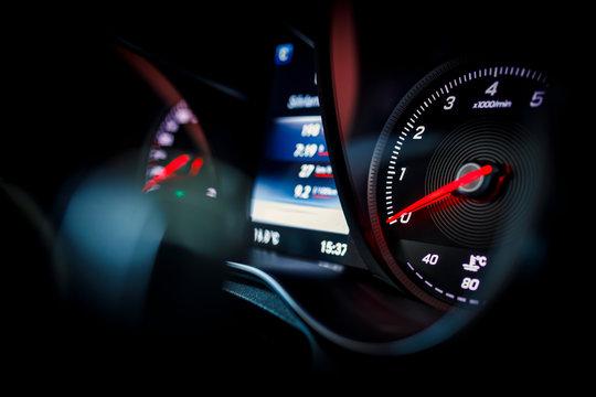 New technology car dashboard