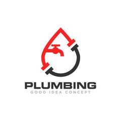 Plumbing Logo Icon Design Vector