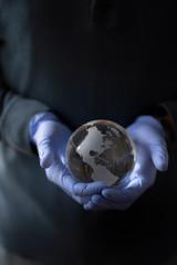 Covid-19 Healing earth