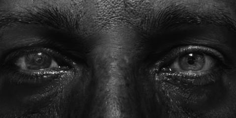 Close-up Of Human Eyes