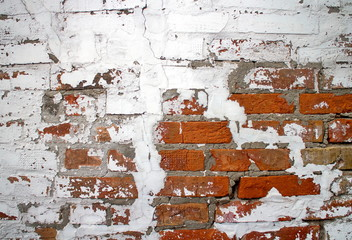 Old bricks wall as a background