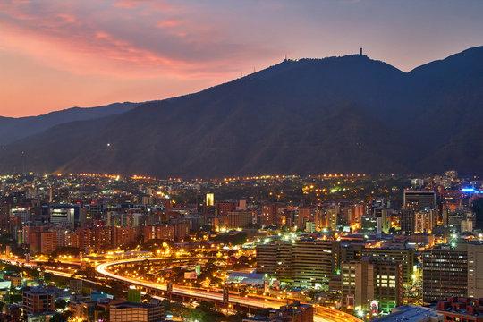 Sunset Caracas