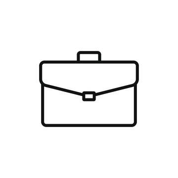 simple icon of a briefcase vector illustration