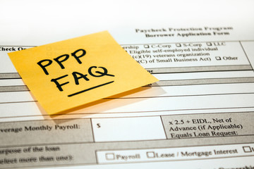 Paycheck Protection Program Application and Reminder Note FAQs