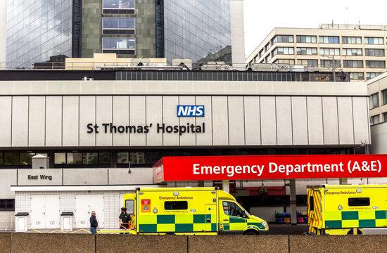 London, England : London St Thomas Hospital