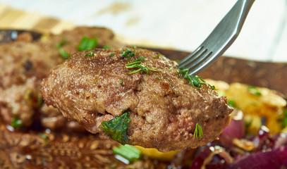 Icelandic breaded lamb chops