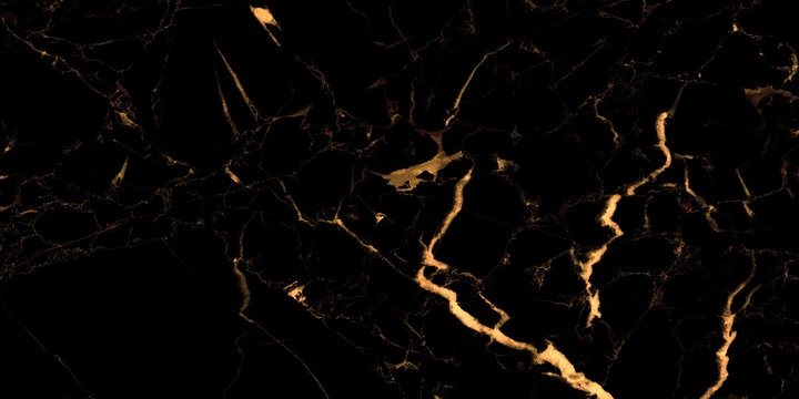 black marble background with yellow veins