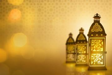 Arabic lantern, Ramadan kareem background
