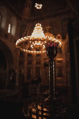 Papiers peints Affiche vintage the lights of church