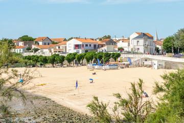 Foto auf AluDibond Nordeuropa Fouras (Charente-Maritime, France), la plage nord