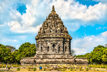 Wall Mural - Candi Bubrah Temple at Prambanan. UNESCO world heritage in Indonesia